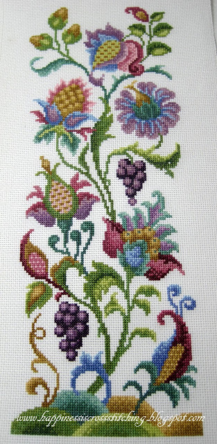 Winner of Giveaway and recent stitching