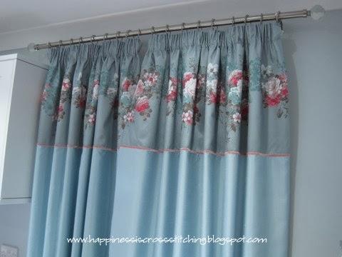 My craft room curtains