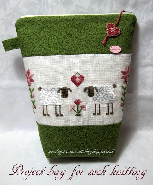 Project bag by Lynn B