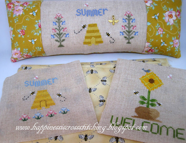 Stitching this week and mini update for craft room