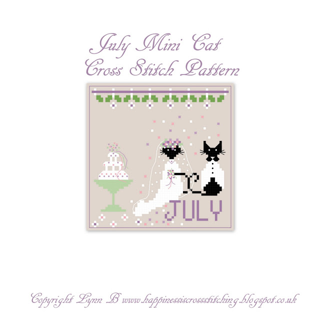Freebie Friday – July Mini Cat……….. The wedding!!!!