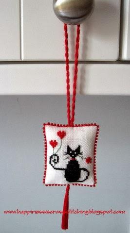 Free Valentine Cat Pattern