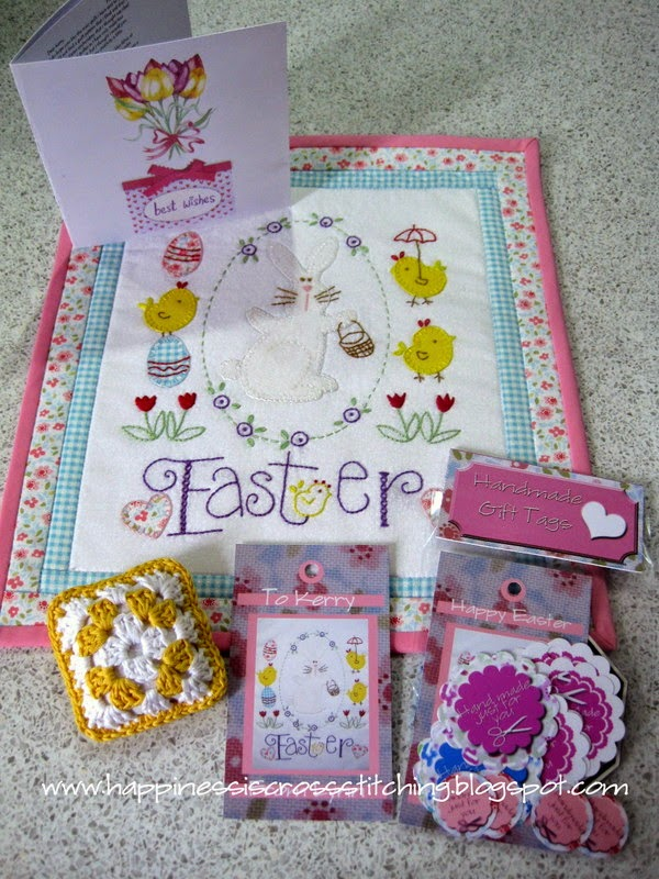 Easter Mini Quilt and swap on Ravelry.