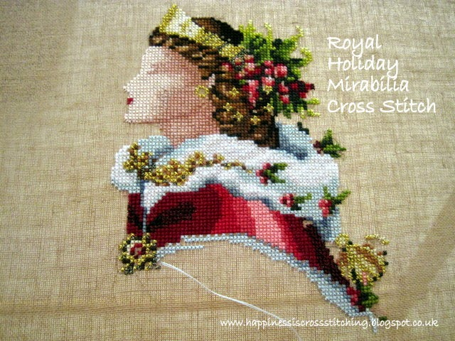Mirabilia Royal Holiday Cross Stitch By Lynn B