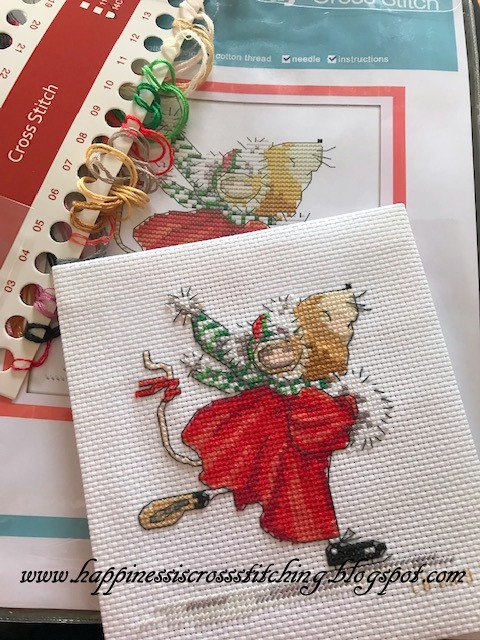 A Merry-Mouse Christmas Counted Thread Cross Stitch