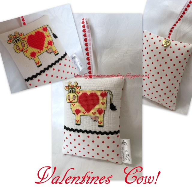 Valentine Cow and more project bags