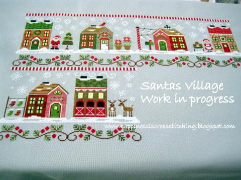 Another Santa's Village update and a Prairie Schooler work in progress