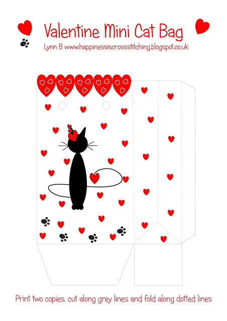 Freebie Friday Valentines bag and tags