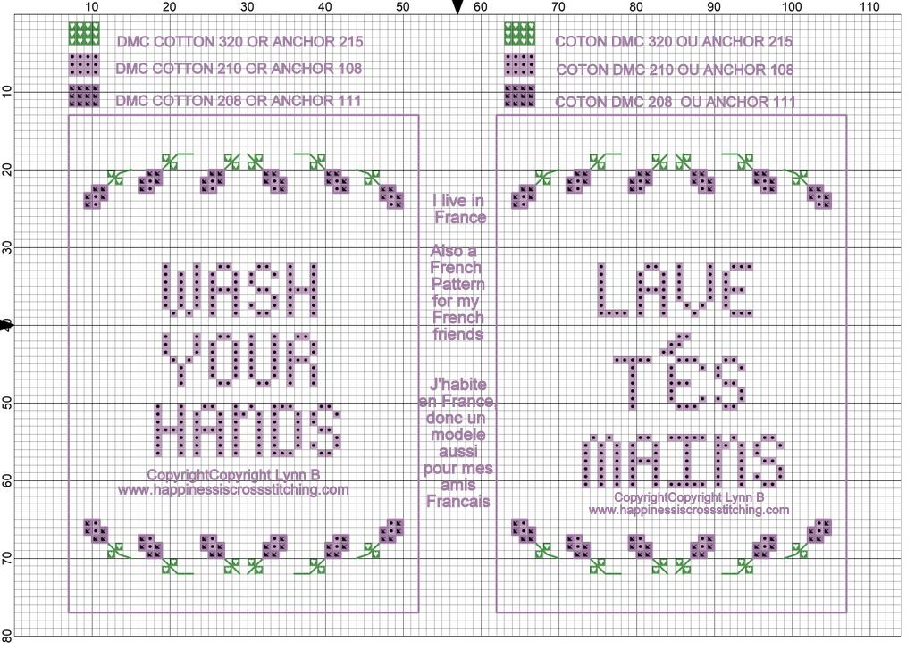 taken from a magazine A Warmest Wishes! Christmas cross stitch chart