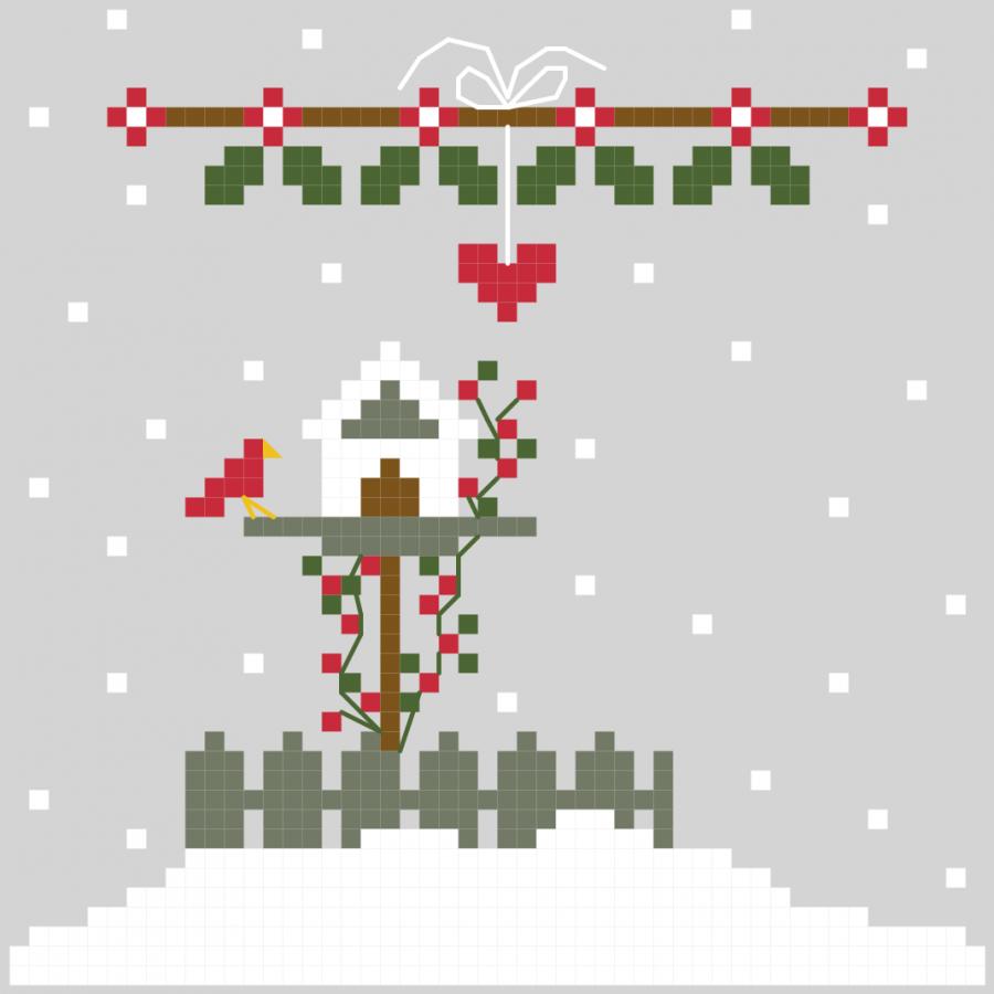 The Little Christmas Bird House