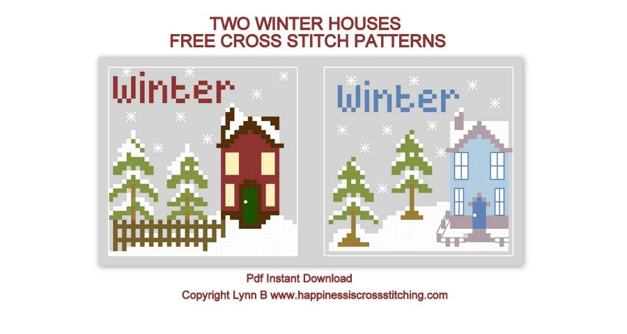 Two Winter Houses